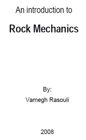 جزوه مکانیک سنگ دکتر وامق رسولی دانشگاه کرتین استرالیا (دانلود رایگان)